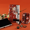 Cute Japanese Plum Blossom Red Nintendo Switch Protection Cover - TPU
