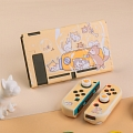 Cute Cats Playground Yellow Nintendo Switch Protection Cover - TPU