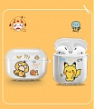 Lovely Pokemon Pikachu Duck Transparent Airpod Case | Silicone Case for Apple AirPods 1, 2, Pro (84322)