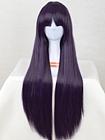 Purple Wig (Long,Straight Kuroneko)