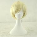 Earl Cosplay Costume Wig (Short Blonde Cream) from Kuroshitsuji II