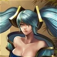 Sona Wig from League of Legends