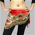 Belly Dance Hip Scarf (400 coins, 6 colors)