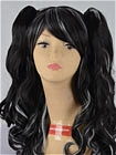 Black Wig (Long,Wavy,Clips on)