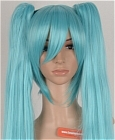 Blue Wig (Long,LBMiku CF17)