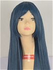 Blue Wig (Long,Straight,Sayaka)