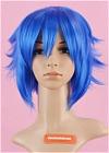 Blue Wig (Short,Spike,DZSP,CF29)