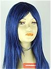 Blue Wig (Straight,Medium,XLS CF19)