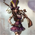 Caitlyn Cosplay Costume (2nd) from League of Legends