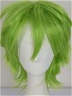 Green Wig (Short,Spike,XSP03RY,CF29)