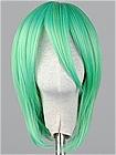 Green Wig (Short,Wavy,Fran)