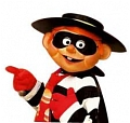 Hamburglar Cosplay Costume from McDonaldland