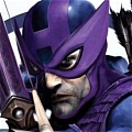 Hawkeye Mask from Marvel Legends