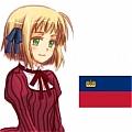 헤타리아 Axis Powers 리히텐슈타인 가발