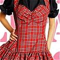 Lolita Dress (Plaid,Stella)