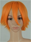 Orange Wig (Short,Spike,Grace CF04)