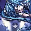 보컬로이드 하츠네 미쿠 가발 (Diamond Blue)