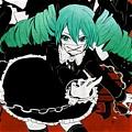 Miku Wig (Secret Police) from Vocaloid