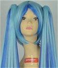Mixed Color Wig (Long,Blueberry Miku)