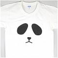 Panda t shirt (White 01)