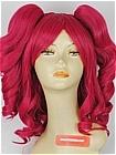 Red Wig (Curly,Medium,Komachi)