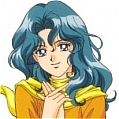 Sailor Neptune Wig from Sailor Moon