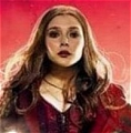 Scarlet Cosplay Costume (Red) from The Avengers