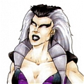 Sindel Wig from Mortal Kombat