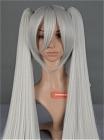 Sliver Wig (Long,Clip,Maka)