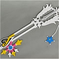 Sora Oathkeeper from Kingdom Hearts