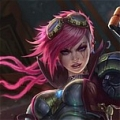 Vi Wig from League of Legends