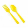 Yellow Floks and Spoons